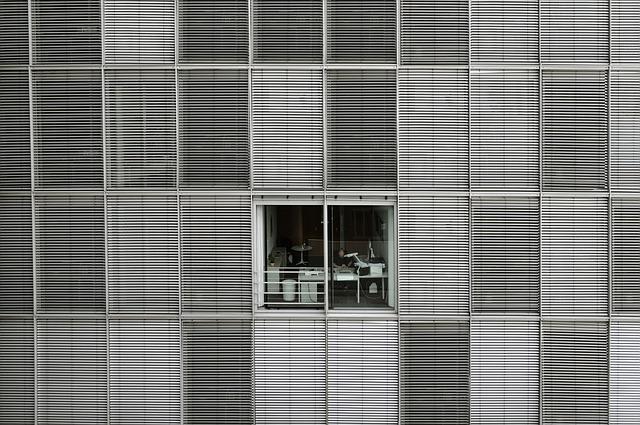 Fenêtre jalousie